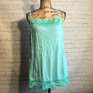 Maurices teal tank top nwot plus size 2